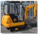 JCB 8015 MINI DIGGER 1m WIDE